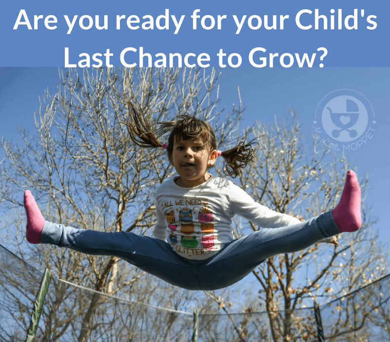 Are you prepared for your child's last chance to grow?