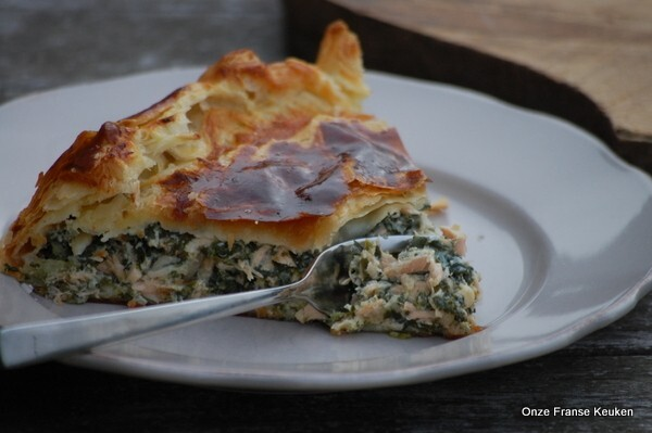 Zalm spinazie Quiche