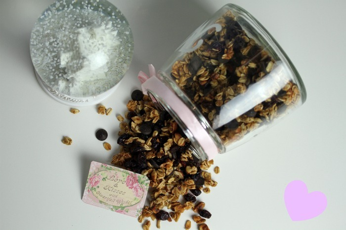 A delicious home-made Christmas  granola