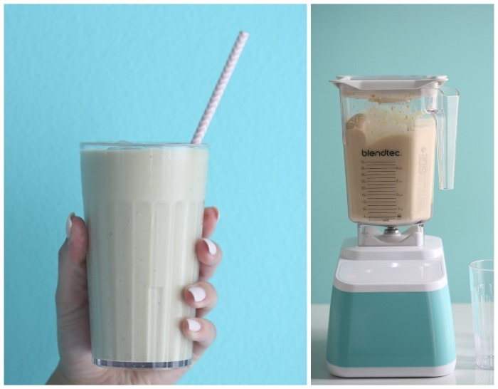 Iced coffee smoothie