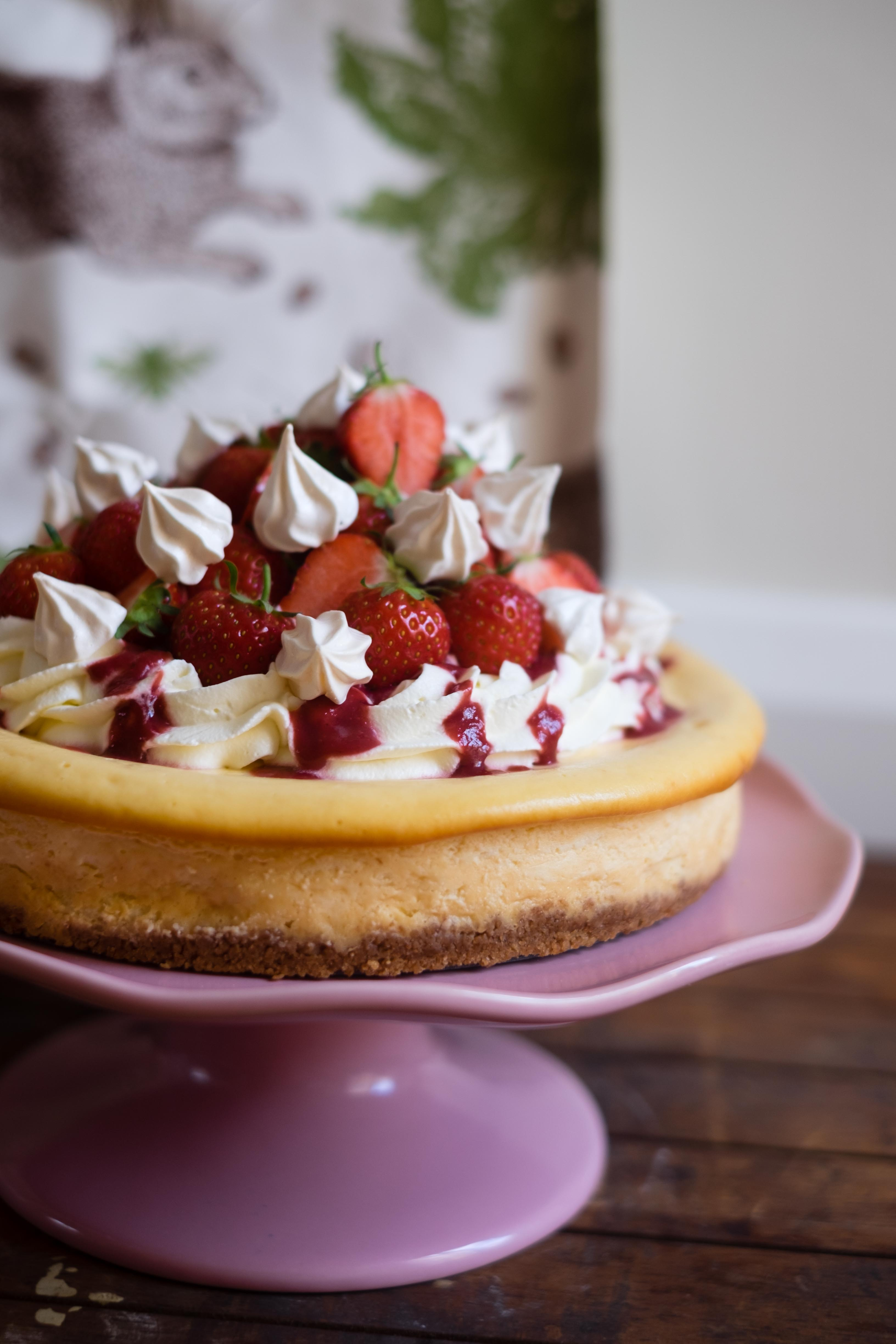 Eton Mess Cheesecake and Thornback & Peel Giveaway