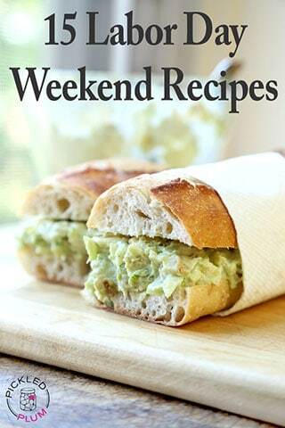 15 Labor Day Weekend Recipes
