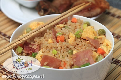 Ham and Egg Fried Rice Recipe