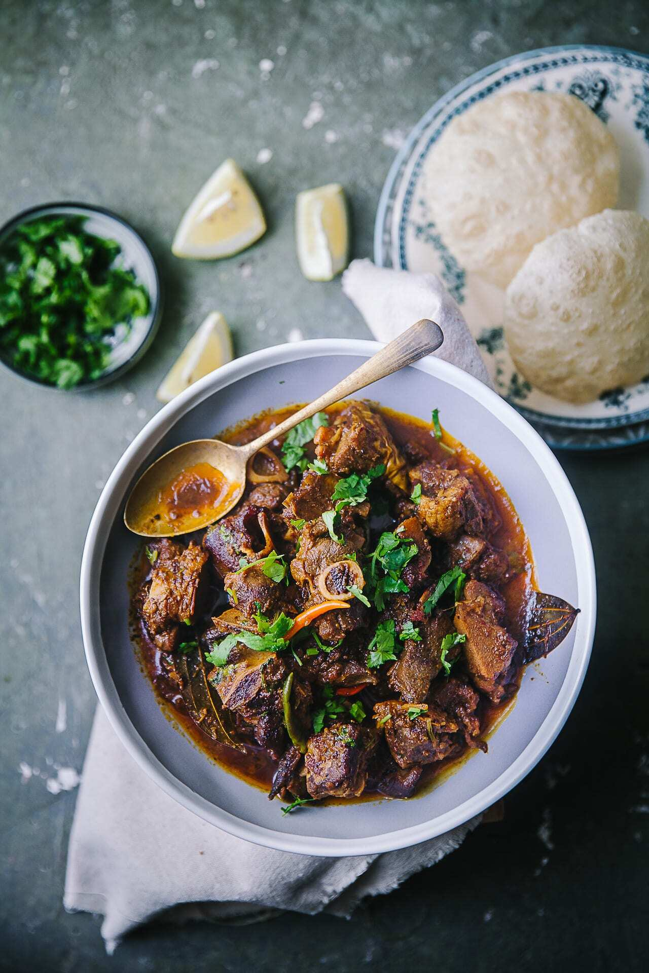 Spicy Mutton Curry (Kosha Mangsho)