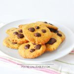 Galleta de Avena con Chispas de Chocolate SALUDABLES