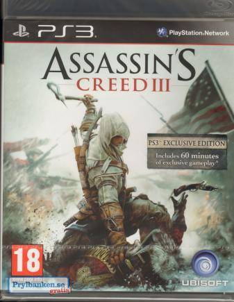 Assassin's Creed 3 -PS3