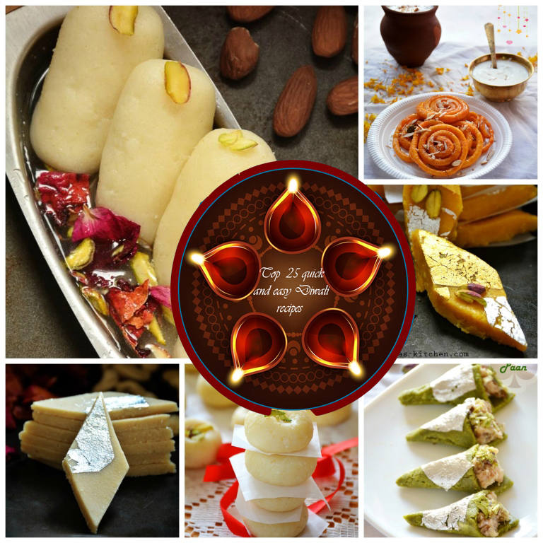 25 Diwali recipes – Diwali sweets recipes, Diwali snacks recipes