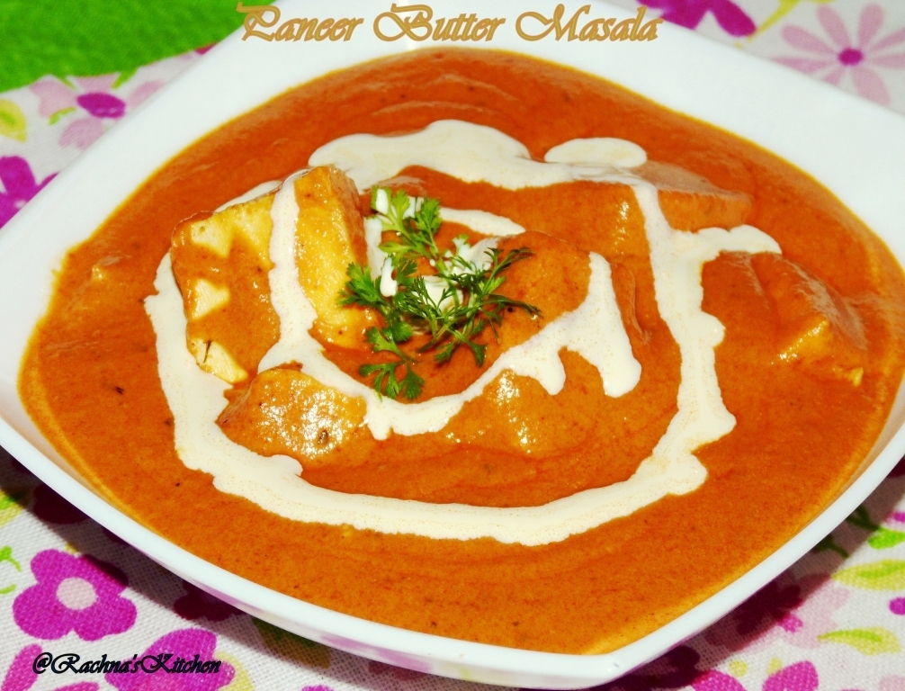 Paneer Butter Masala Recipe (with Step by Step Photos)