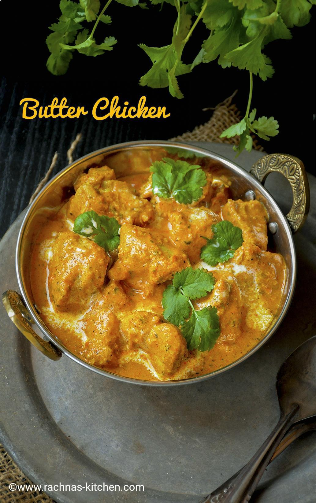 Easy Butter Chicken Recipe, Murgh Makhani Recipe