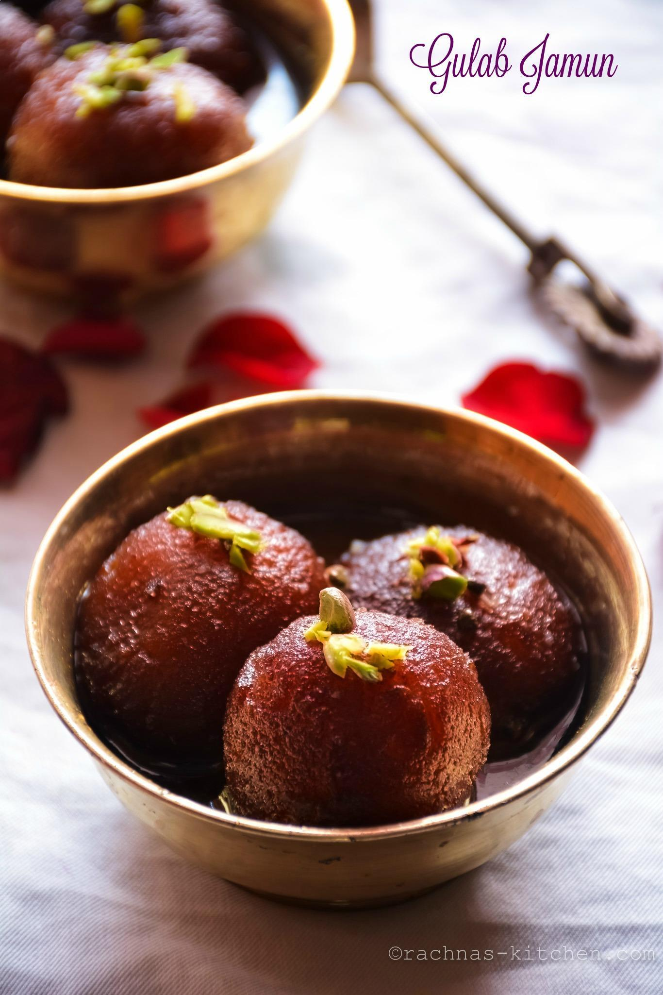 Gulab Jamun Recipe | How to make gulab jamun with khoya