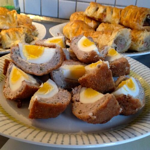 Scotch eggs / Skotska ägg