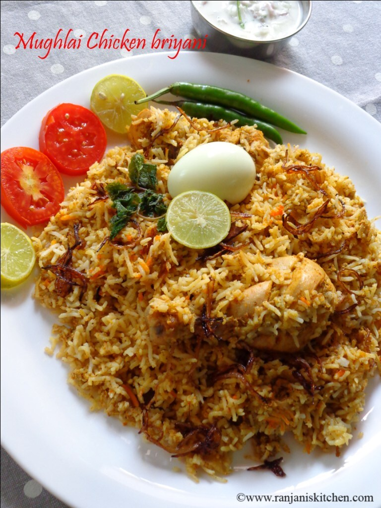 Mughlai Chicken Briyani |Chicken Recipes