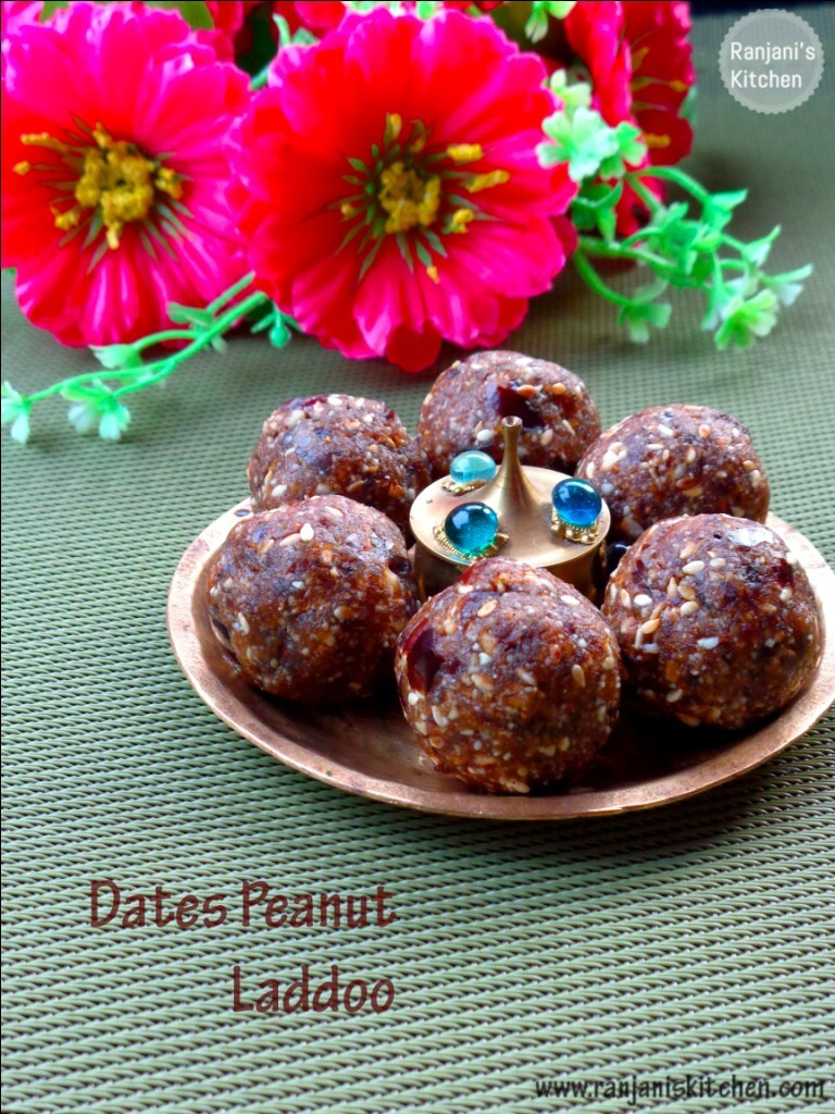 Dates Peanuts Ladoo| Indian Sweets