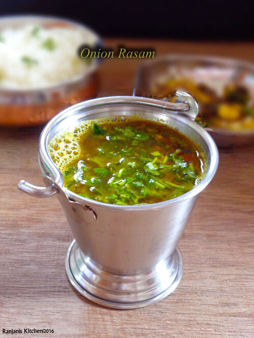 Vengaya Rasam | Rasam Recipes