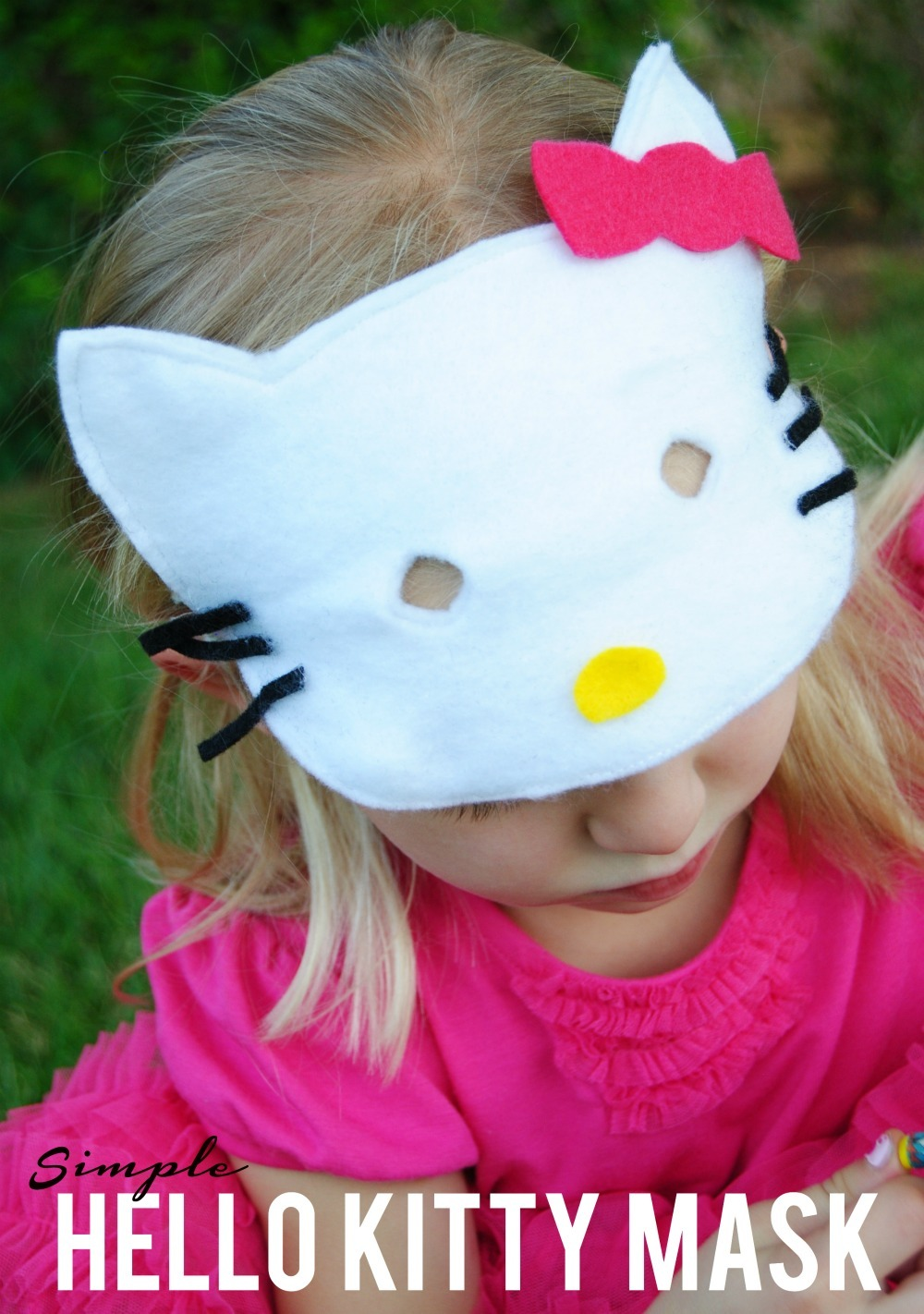 Simple Hello Kitty Costume