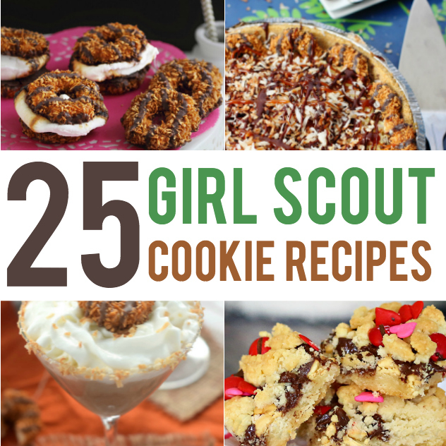 Recipes using Girl Scout Cookies