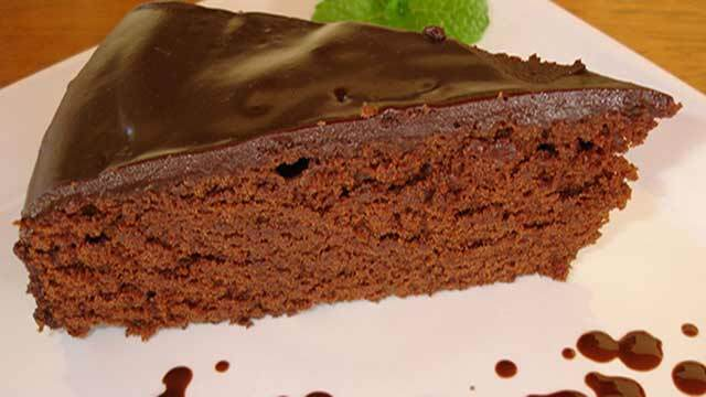 Bolo de Chocolate Com Café e Licor de Gianduia