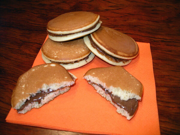 Dorayaki de chocolate