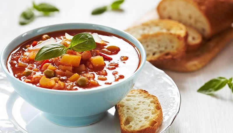 Soupe minestrone au thermomix