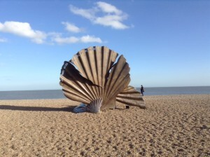 Aldeburgh, the Shell and the Fish