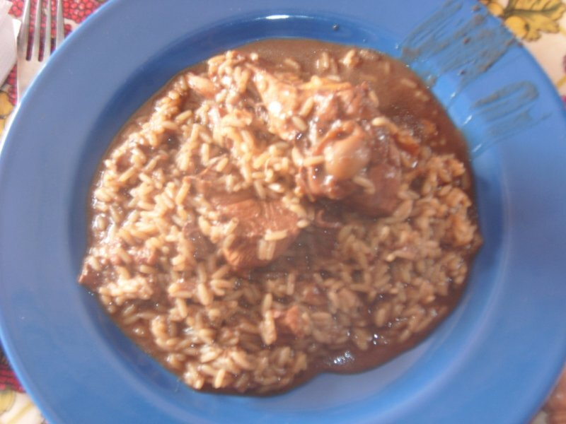"Arroz de Cabidela à ""Casa do Mar"""