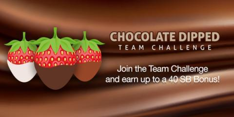 Swagbucks Chocolate Dipped Team Challenge