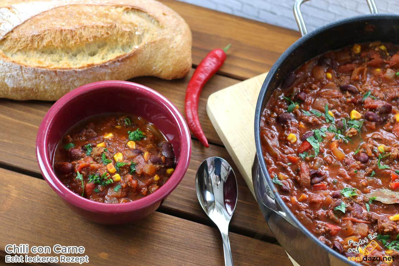 Chili con Carne Rezept – Super leckeres Chili