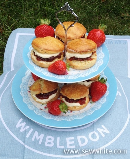 Wimbledon Afternoon Tea – Super Scones