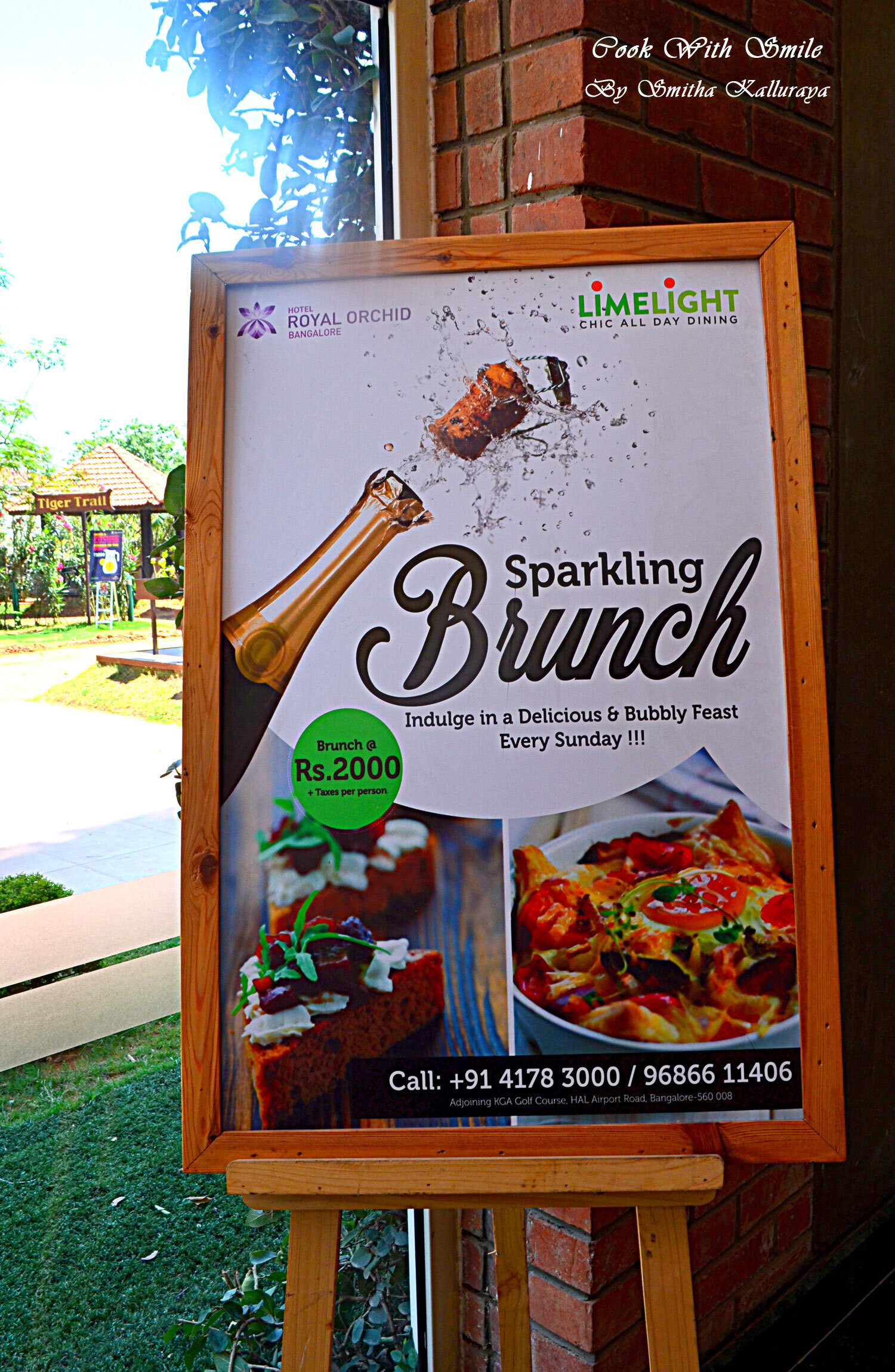 SUNDAY BRUNCH AT LIMELIGHT , ROYAL ORCHIDS BANGALORE