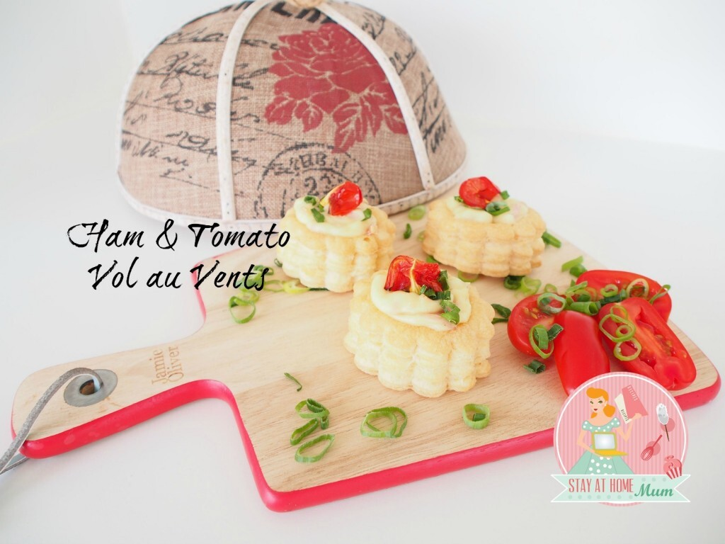 Ham and Tomato Vol au Vents