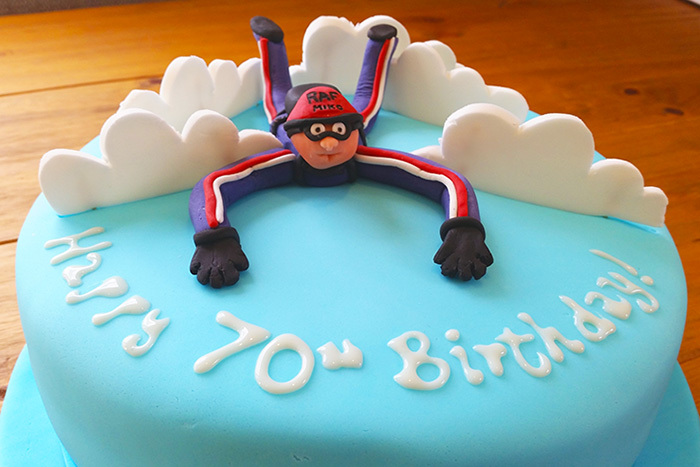Sky Diving Themed Cake – Ultimate Chocolate Cake Recipe