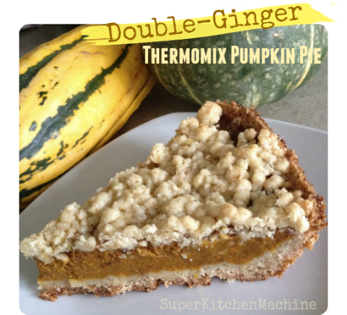 Double-ginger Thermomix Pumpkin Pie Recipe