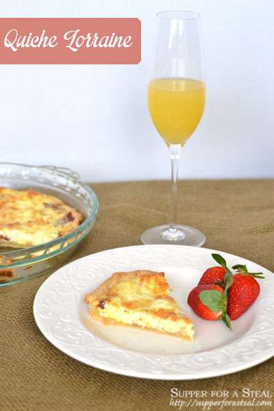Quiche Lorraine for Mother's Day #SundaySupper