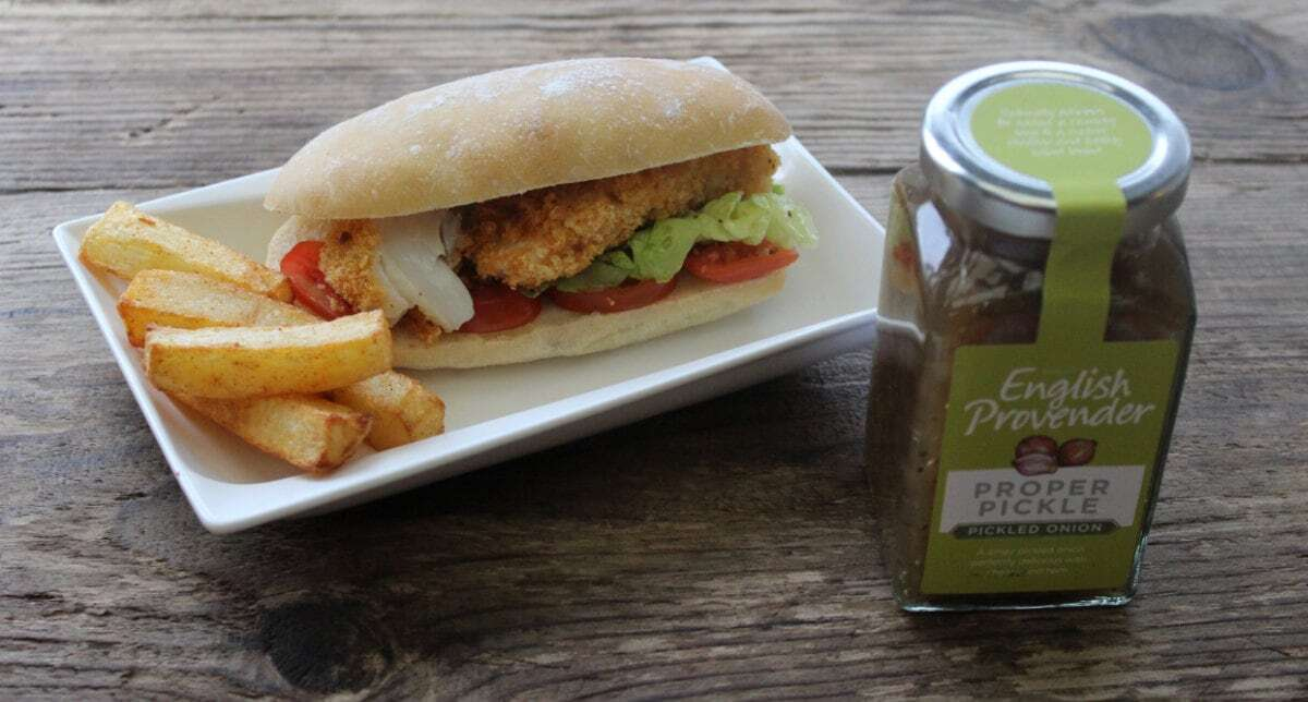 Proper Fish Finger Sandwich