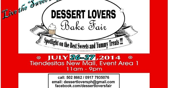 Dessert Lovers Bake Fair in Tiendesitas