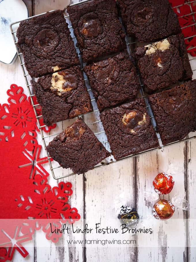 Lindor Brownies and Festive Food Friday #3