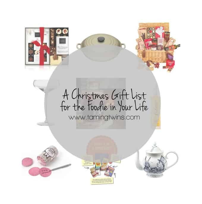 A Christmas Gift List for the Foodie in Your Life (& Win a Hamper!)