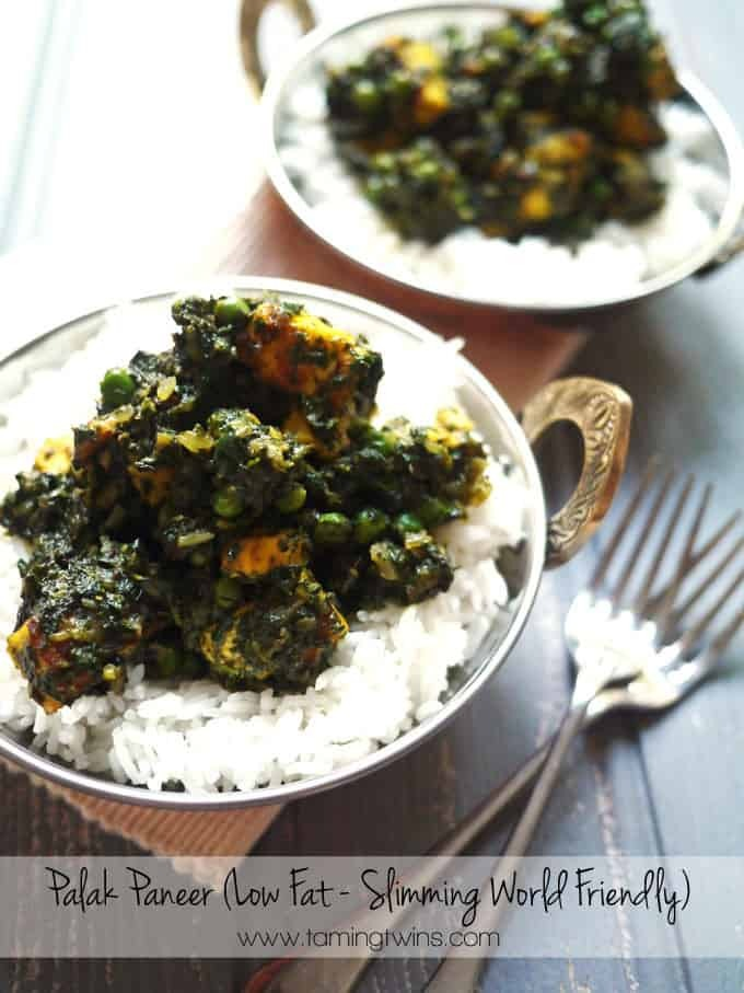 Slimming World Palak Paneer