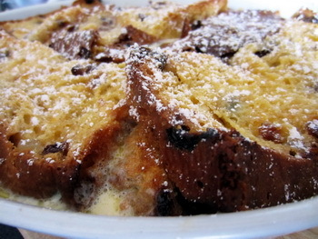 Christmas Recipe! Panettone Bread and Butter Pudding