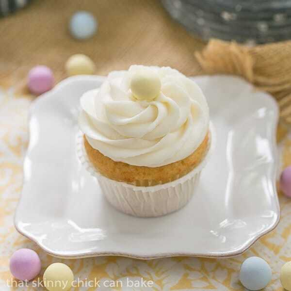 Buttercream Topped Vanilla Cupcakes #TwoSweetiePies