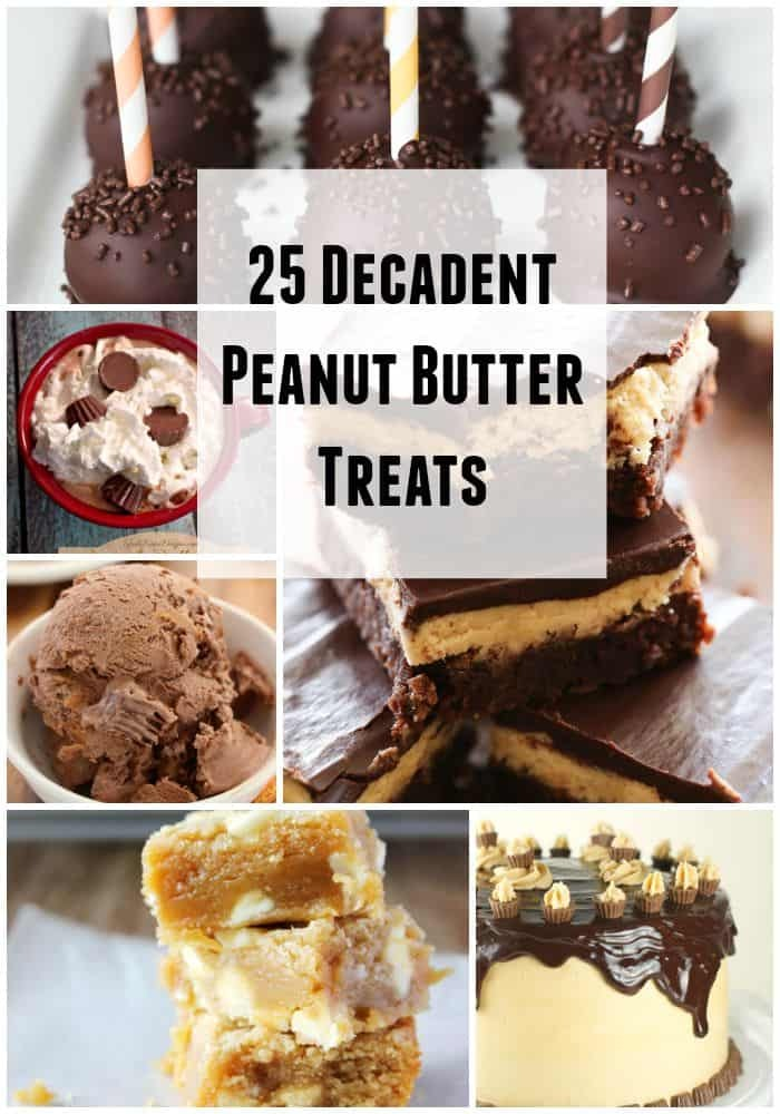 25 Decadent Peanut Butter Treats