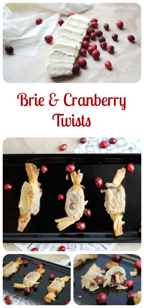 Brie & Cranberry Twists