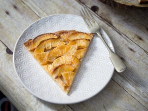 French Apple Tart for Ina Friday