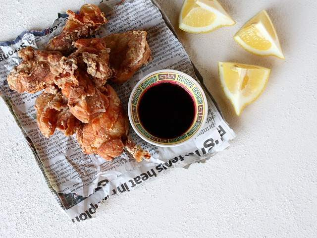 Karaage, or Japanese deep-fried chicken