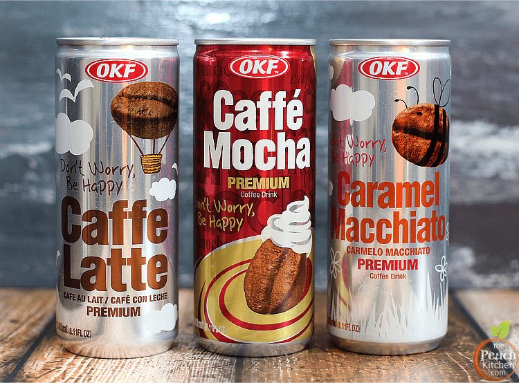 OKF Premium Coffee Drinks+ A Giveaway