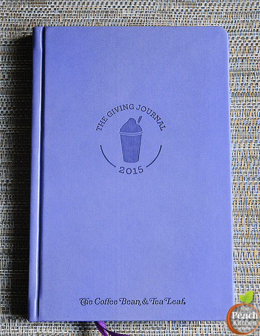 The Coffee Bean and Tea Leaf 2015 Giving Journal