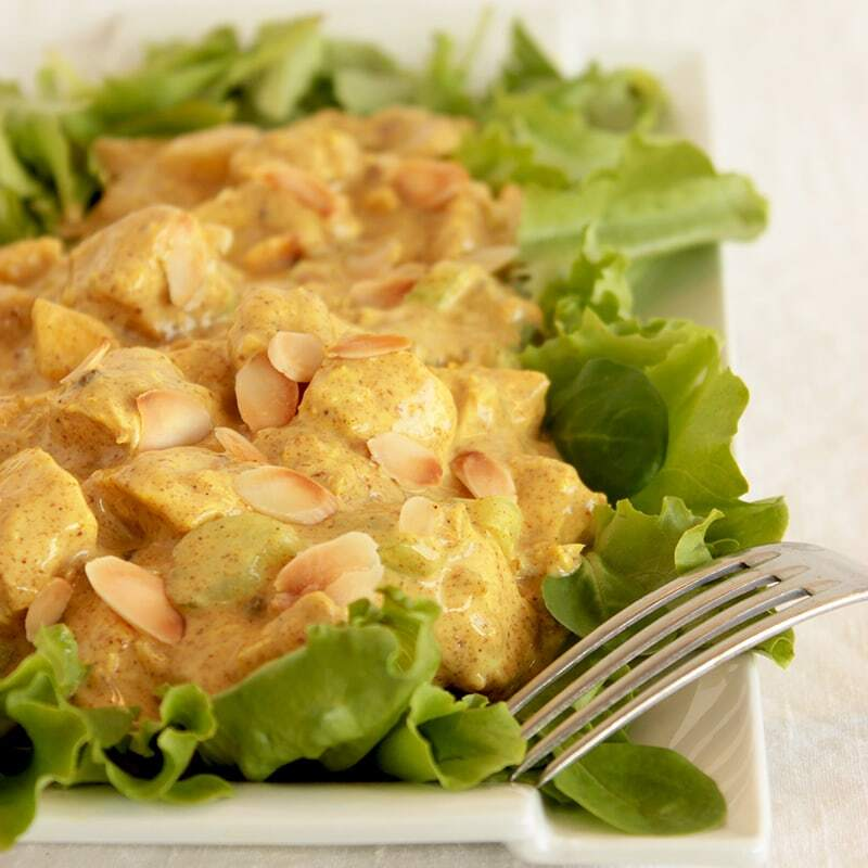 The Real Coronation Chicken Salad
