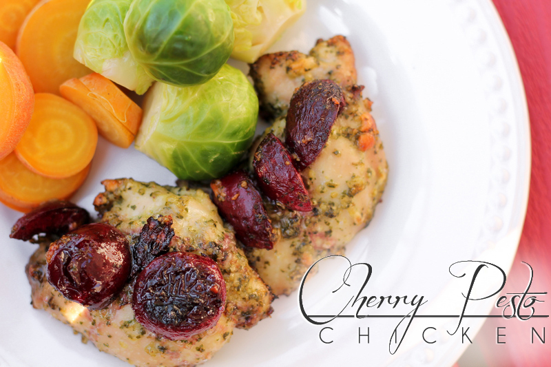 Cherry Paleo Pesto Chicken