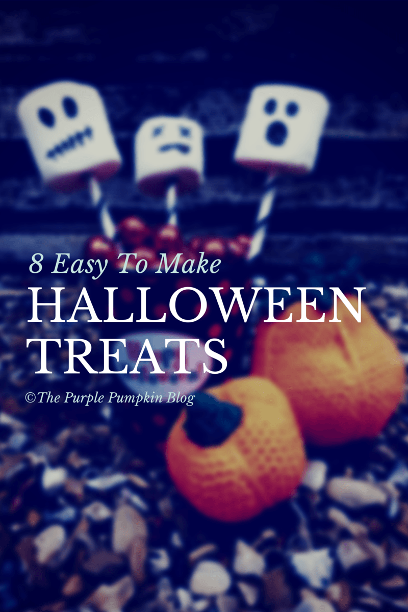 8 Easy To Make Halloween Treats