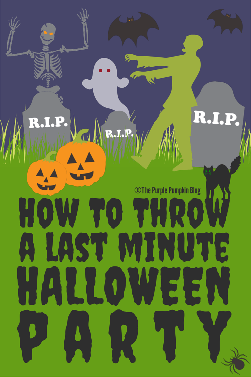 How To Throw A Last Minute Halloween Party!